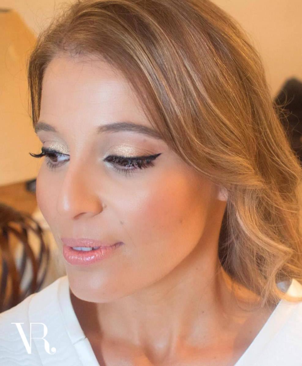 Maquilhagem de Noiva | Eyeliner gráfico em Pele luminosa