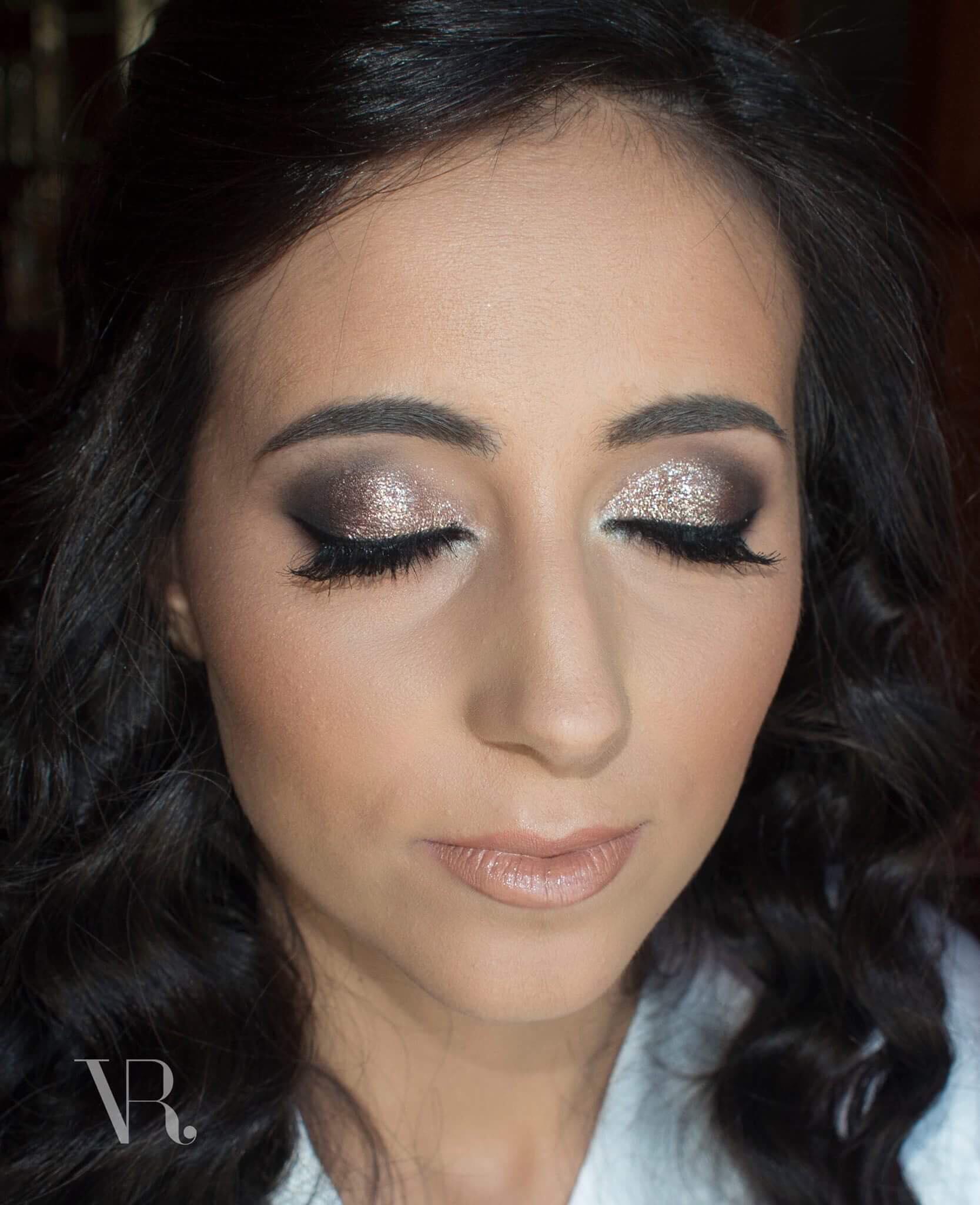 Maquilhagem de Noiva Glitter