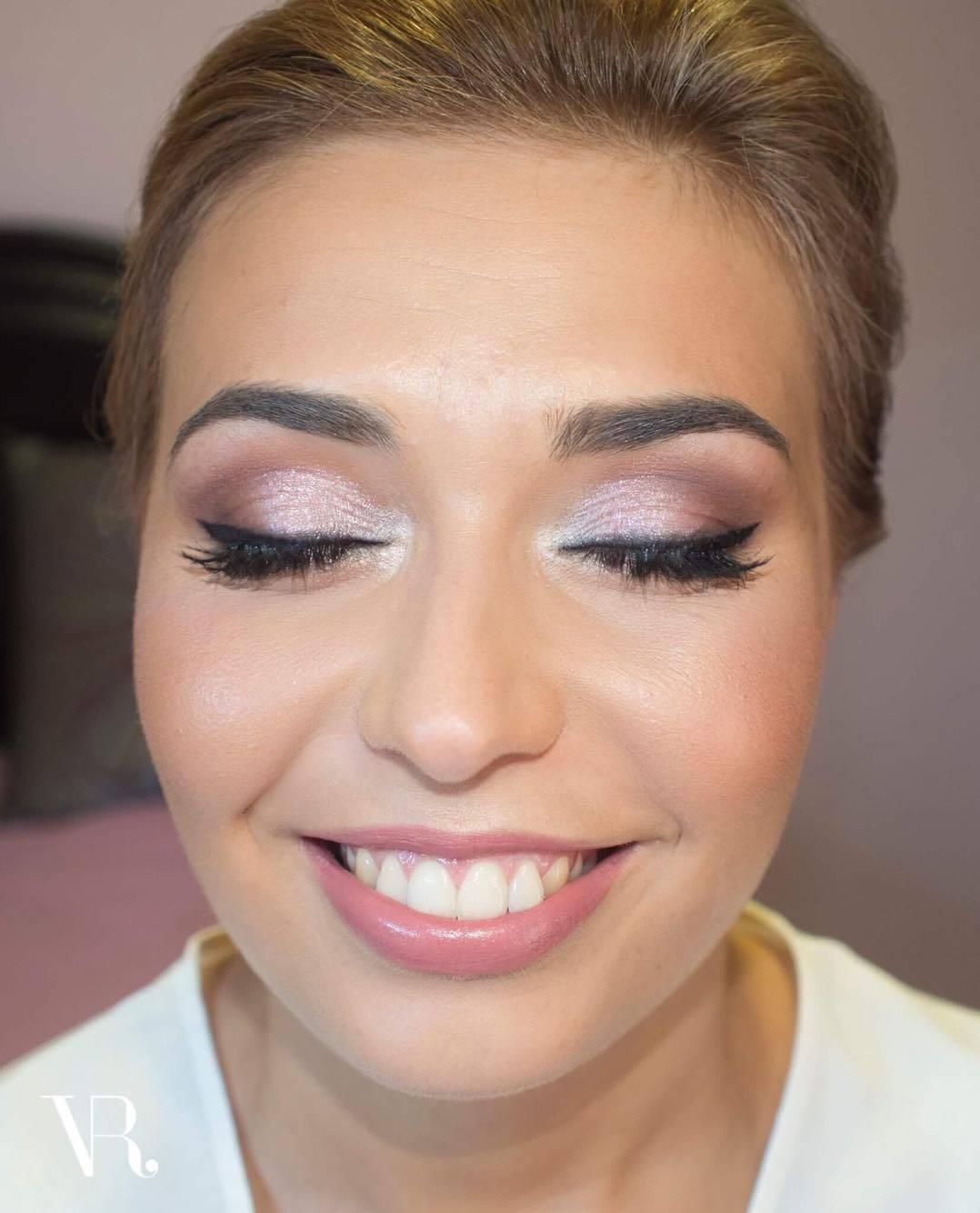 Maquilhagem de Noiva | Noiva Romântica em tons rosa